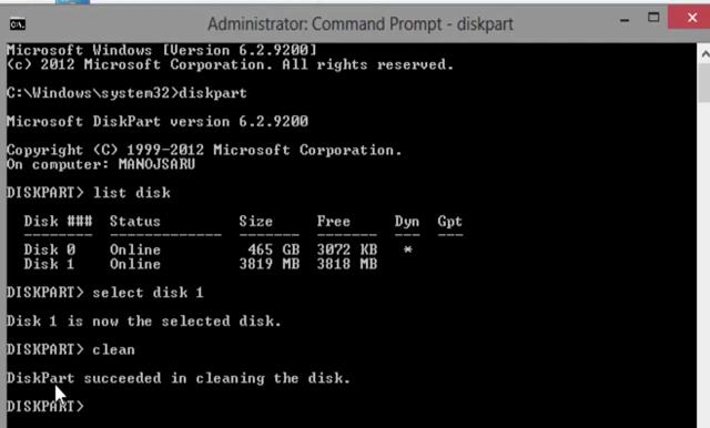 Flash Drive Repair Cmd Code
