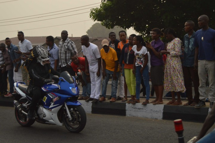 2016 Calabar Bikers Carnival Kick Starts As Bikers Arrived In Style