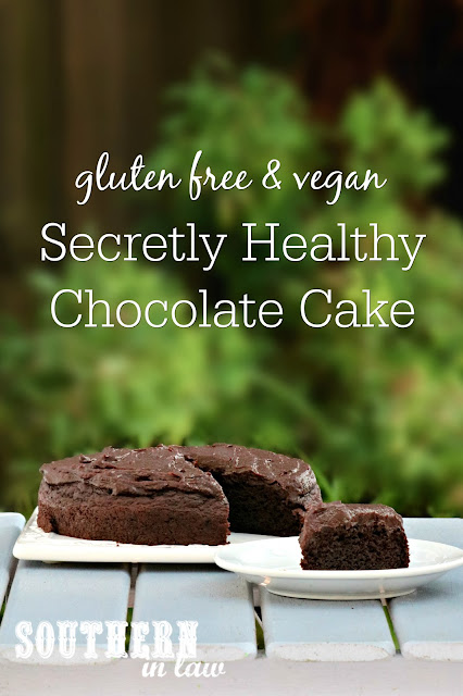 Secretly Healthy Chocolate Cake Recipe with Zucchini - gluten free, vegan, refined sugar free, dairy free, nut free, soy free, egg free, clean eating recipe