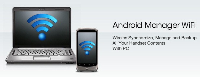 Android sync manager wifi agent pc