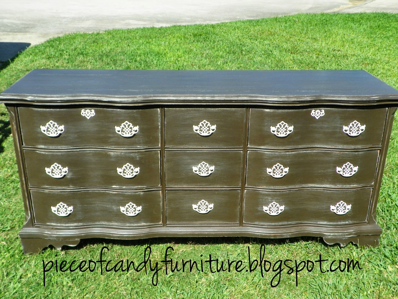 Piece Of Candy Furniture: Serpent Triple Dresser Painted