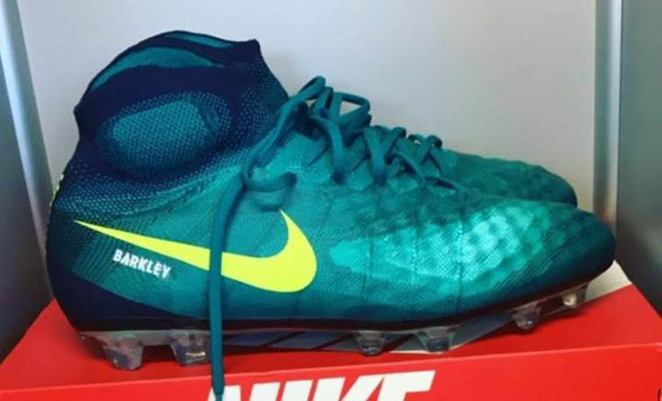 f002d59f58e2 Ross Barkley Shows Off Custom Nike Magista Obra 2 Floodlight Pack Boots