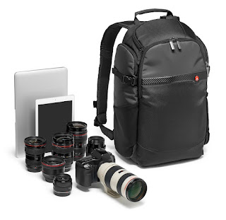 Consider how much equipment you'll be carrying when buying a new camera bag