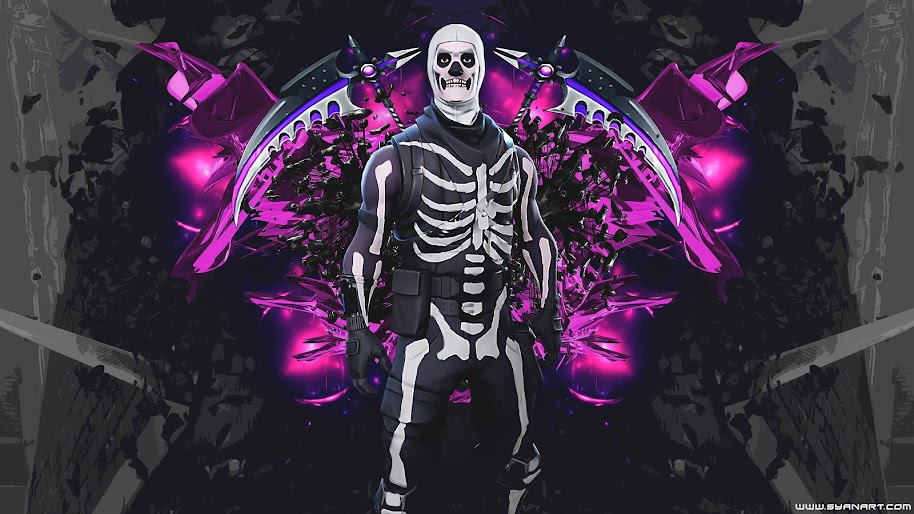 Skull Trooper Fortnite Battle Royale 4k 3840x2160 Wallpaper 54
