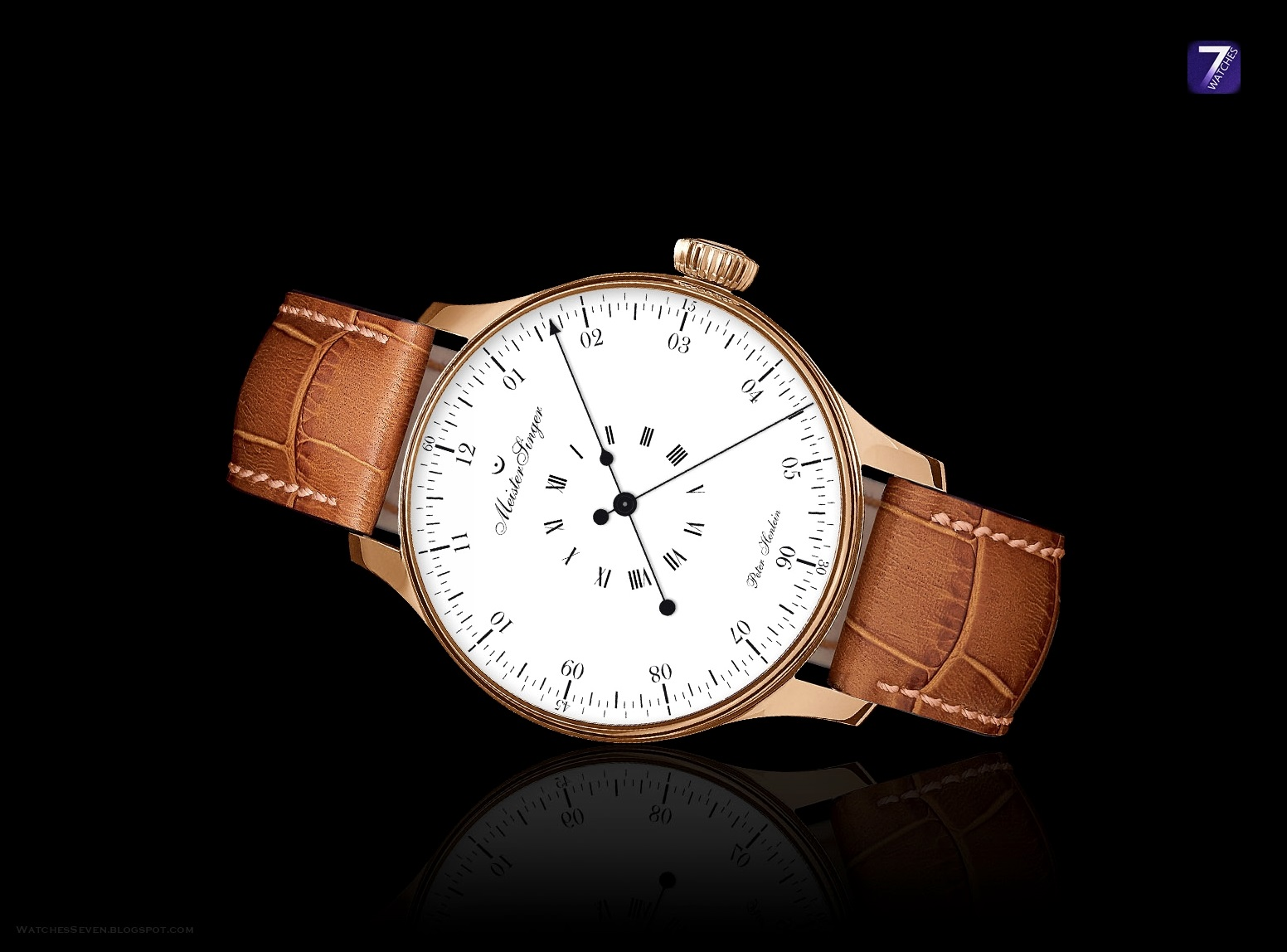 Watches 7: MeisterSinger – Peter Henlein Gold Limited Edition