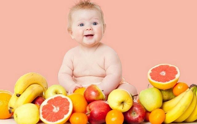 Buah sehat untuk bayi