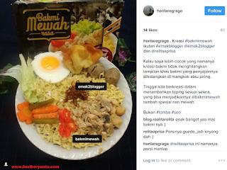 Bakmi Mewah, Hidangan Rumah Siap Saji Spesial nan Mewah Ala Restoran