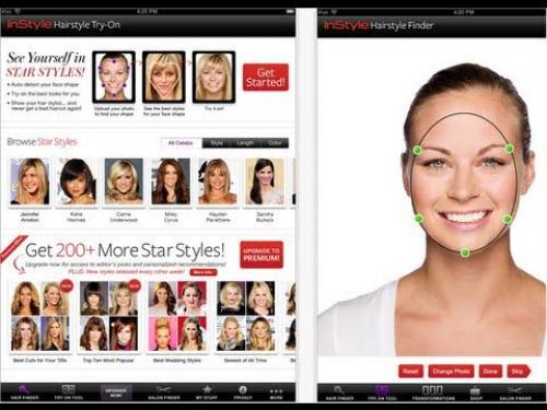 Programas simuladores de cortes de pelo probadores de peinados gratis