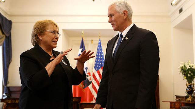 """Bachelet: """"Chile no apoyará golpes de Estado ni intervenciones militares en Venezuela"""""""