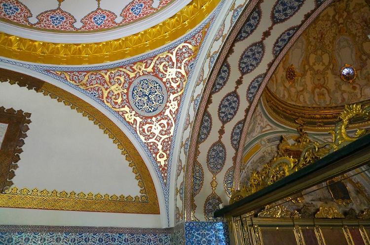 Euriental | Istanbul, Turkey. Topkapi palace ceiling