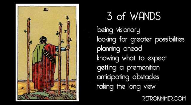7.08.2018  sc 1 st  Retro Kimmer & RETRO KIMMERu0027S BLOG: 3 OF WANDS: EXPLORATION AND FORESIGHT