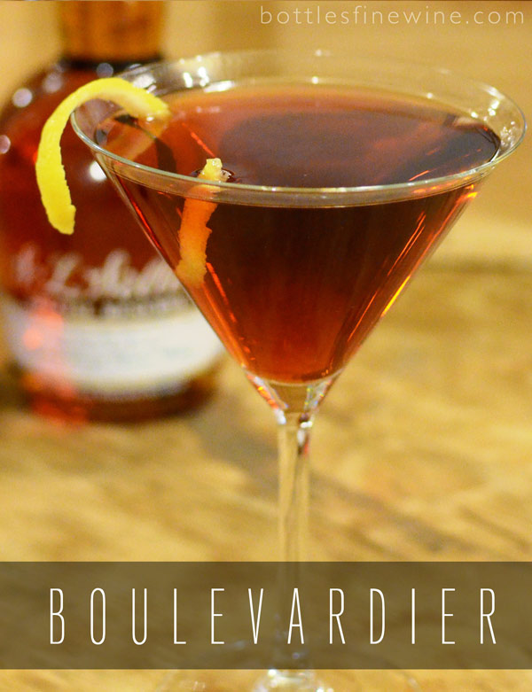 Boulevardier Bourbon Cocktail Idea
