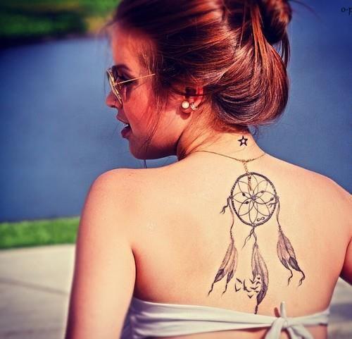 10,MANDALAS Y ELEMENTOS HINDÚES. Esta es otra buen idea para los tatuajes  en la espalda, los mandalas por todo lo que representan no solo son tatuajes