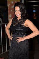 Wamiqa Gabbi in a sleeveless Black Designer Transparent Gown at 64th Jio Filmfare Awards South ~  Exclusive 013.JPG