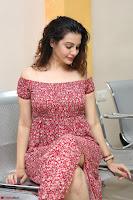 Diksha Panth in a Deep neck Short dress at Maya Mall pre release function ~ Celebrities Exclusive Galleries 102.JPG