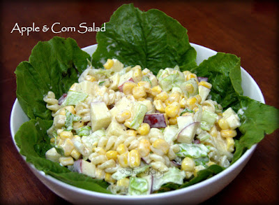 Apple & Corn Salad