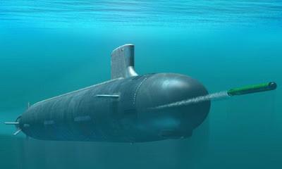 Ilustrasi kapal selam