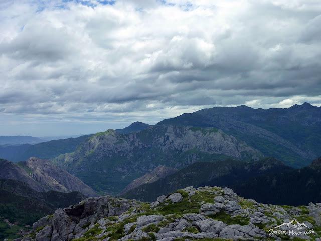 Sierra de Caranga y el Aramo
