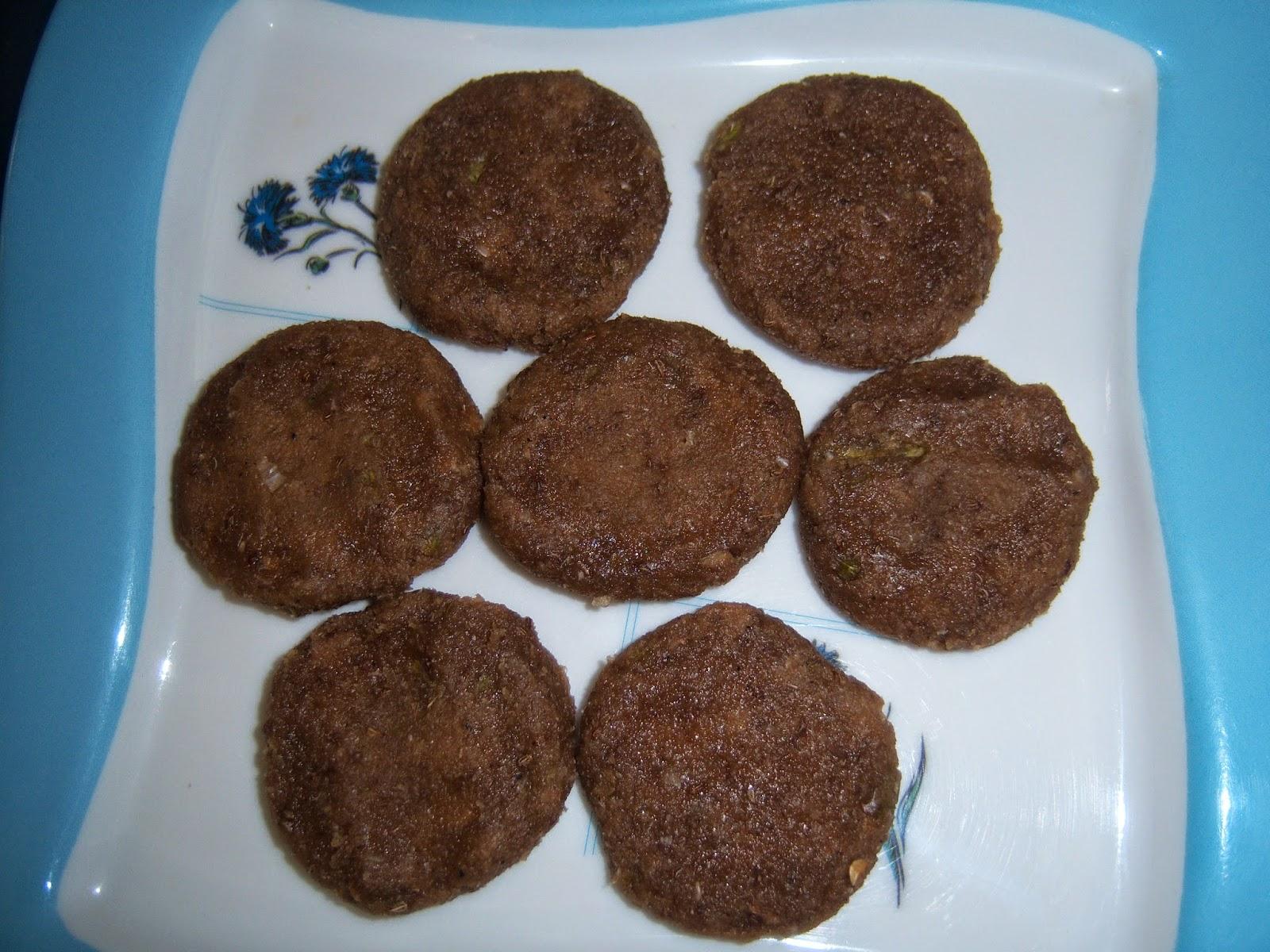 Urupindi Vadiyalu -- Sesame Seeds Residue Cutlets - E A T