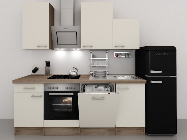 Küchenzeile 190 Cm