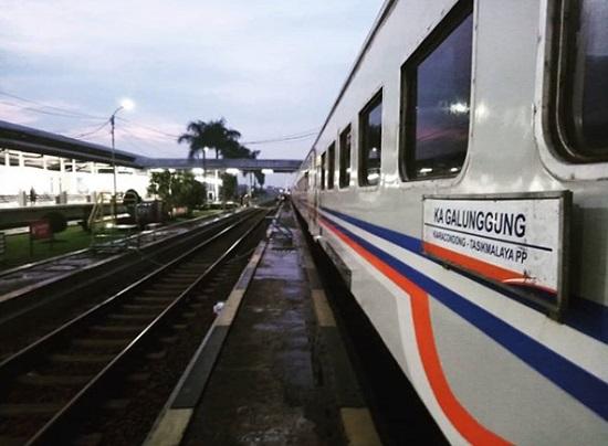 Jadwal Kereta Api Galunggung Terbaru