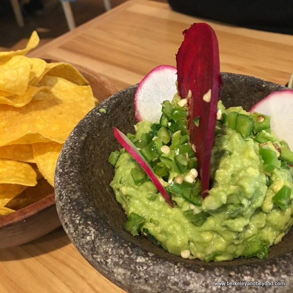 guacamole at Agave Uptown in Oakland, California