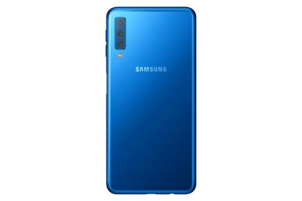 سامسونغ تكشف عن هاتفها Galaxy A7 بثلاث كاميرات في الواجهة الخلفية
