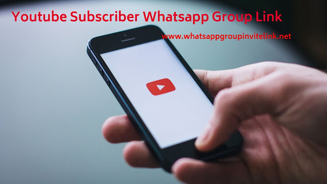 Youtube Subscriber Whatsapp Group Link - Whatsapp Group