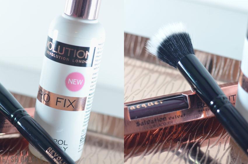Kosmetik4Less Make Up Revolution Pro Fix Oil Control Fixing Spray Stippling Brush