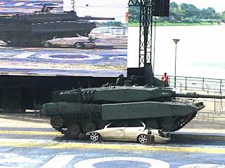 MBT Leopard 2A4SG Singapura
