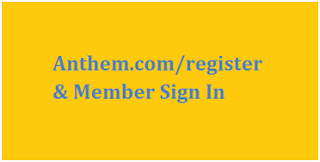 www.anthem.com Register Login Page