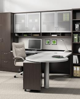Zira open concept workstation