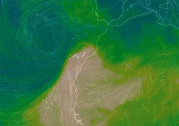 Lluvias intensas y calima a alto nivel en Canarias, jueves 25 octubre 2018