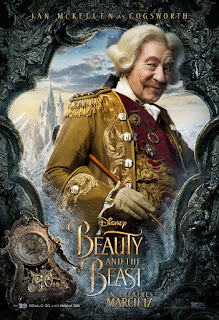 Beauty and the Beast (2017) Poster Ian McKellen