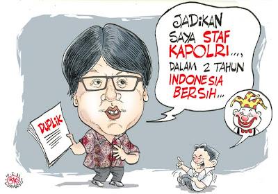 Karikatur 100111 Gayus Ngarep Staf Kapolri 6 Status Facebook Yang Wajib Di Hindari Bagi Cowok