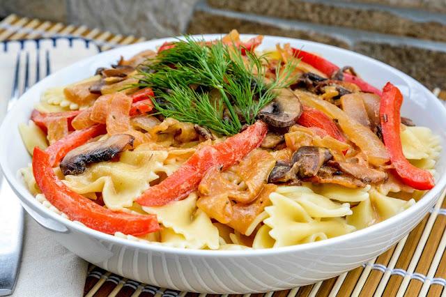 Bowtie Pasta & Veggies