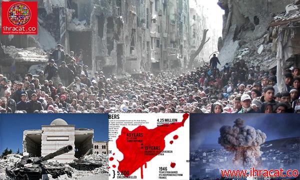 Suriye savaşı, syria wars