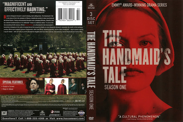 The Handmaid's Tale Season 1 DVD Cover