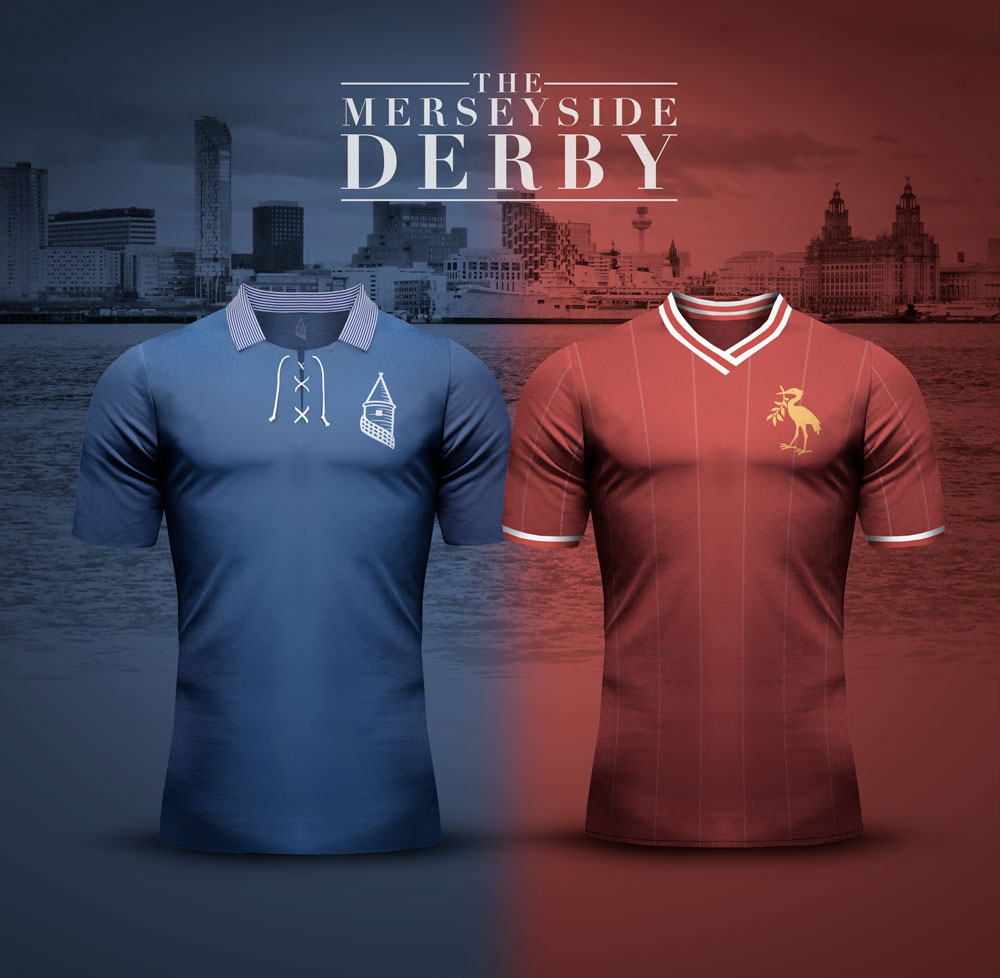 Everton v Liverpool - Merseyside Derby Concept Kits by ...