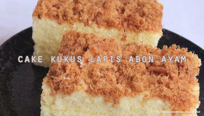 Resep Cake Kukus Praktis: Resep Cake Kukus Lapis Abon Ayam Praktis Lezat