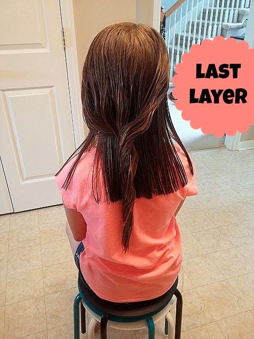 tips to trim long hair www.diybeautify.com