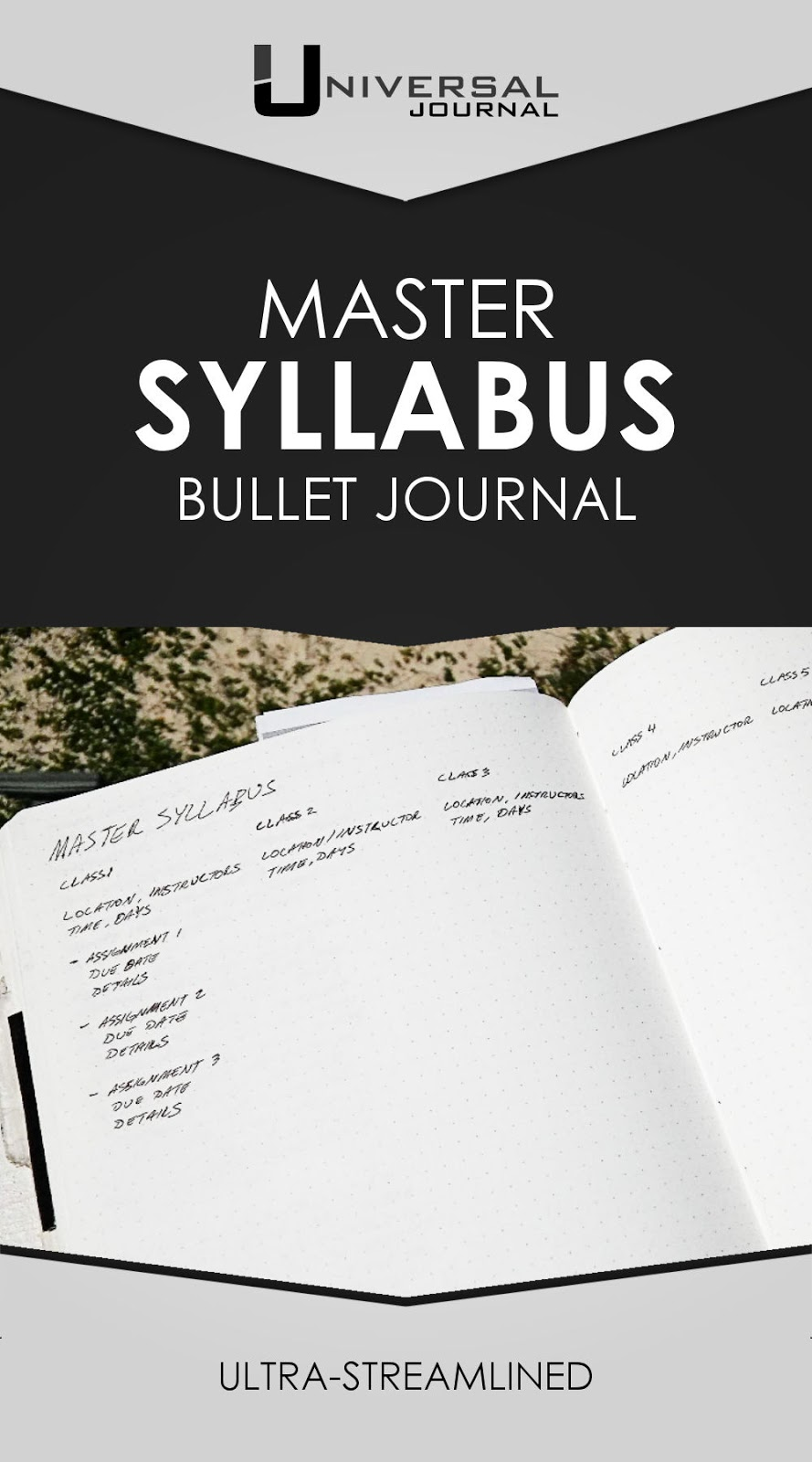 master syllabus for students bullet journal