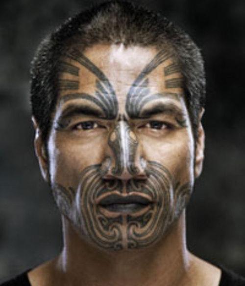 What Does The Maori Chin Tattoo Mean: Wild Kingdom: Maori Tribe