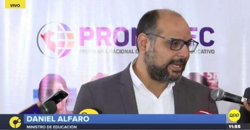 MINEDU: Defendemos el Currículo Nacional que incluye el enfoque de género (Daniel Alfaro Paredes) www.minedu.gob.pe