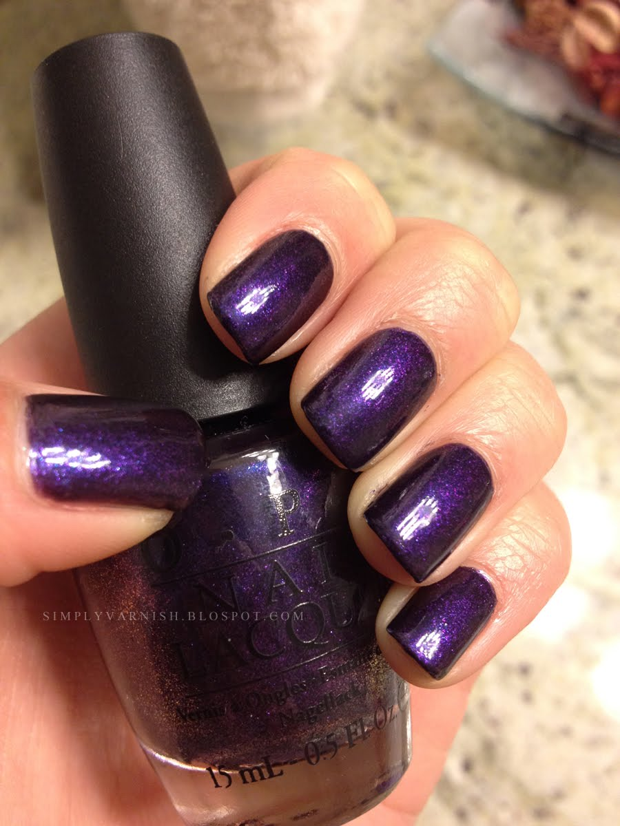 Passion For Polish Opi Ink Swatch