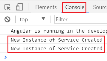 angular service sharing data