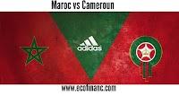 Les prix des billets de match Maroc contre Cameroun pour qualification CAN 2019