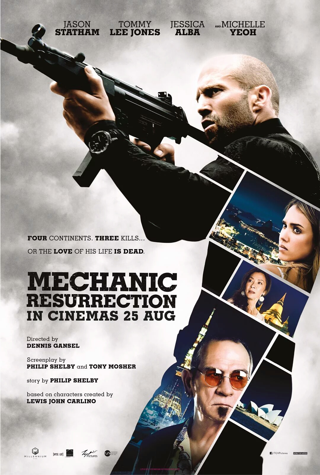 Mechanic Resurrection (2016) Movie Download Hindi Dubbed 720P