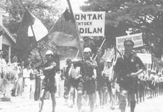 PERLAWANAN FISIK TERHADAP PENJAJAHAN JEPANG DI BERBAGAI DAERAH DI INDONESIA
