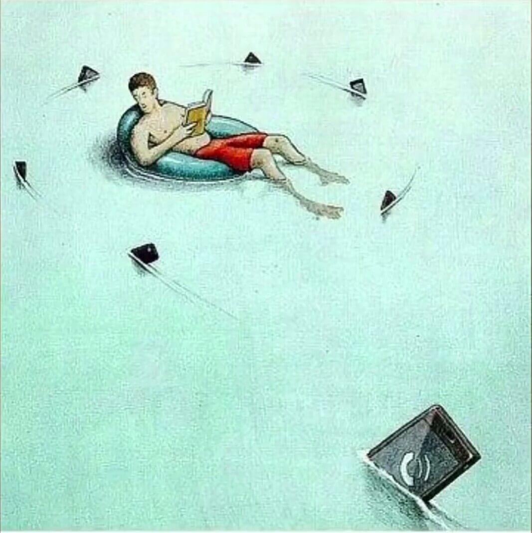 80 Sarcastic Artistic Illustrations That Satirize Modern Society